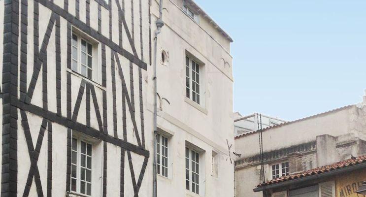 Photo du Résidence « Cour du Temple » programme immobilier à rénover en Loi Pinel ancien à La Rochelle