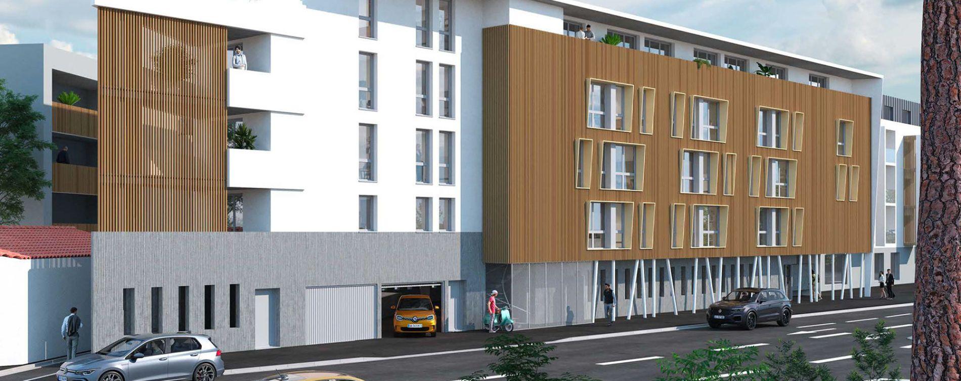 La Rochelle : programme immobilier neuve « Graph Study »