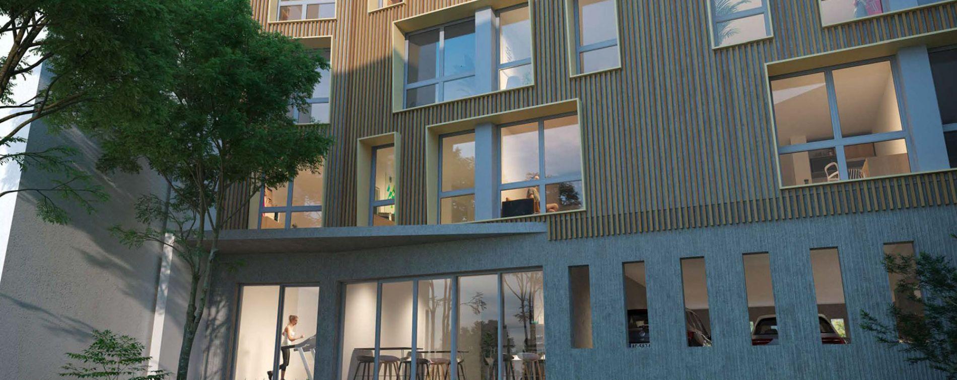 La Rochelle : programme immobilier neuve « Graph Study » (2)
