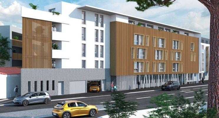 La Rochelle : programme immobilier neuf « Graph Study »