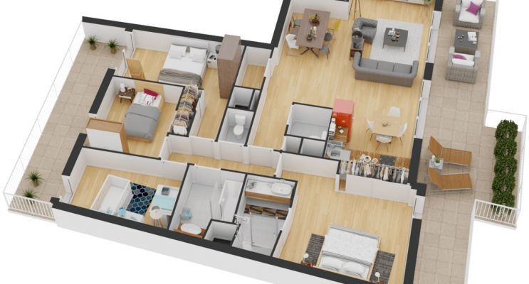Résidence « Hemera » programme immobilier neuf en Loi Pinel à La Rochelle n°5