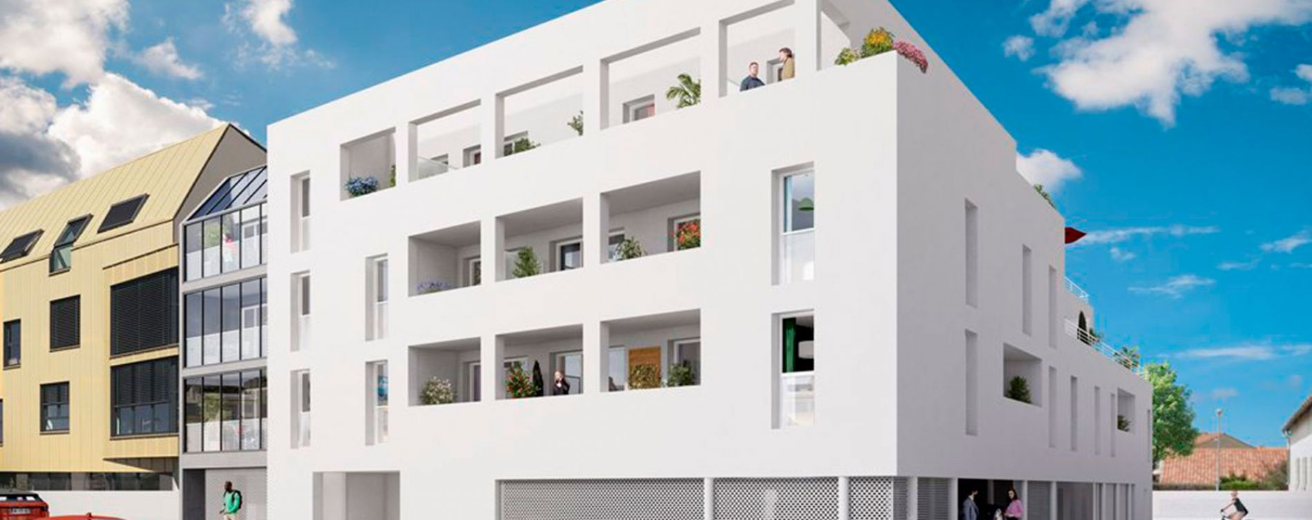 La Rochelle : programme immobilier neuve « Le 135 Sautel » en Loi Pinel