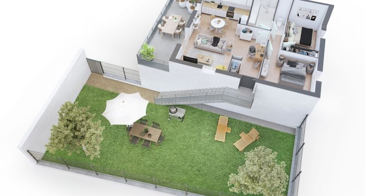 Résidence « Les Chemins De Rompsay » programme immobilier neuf en Loi Pinel à La Rochelle n°4