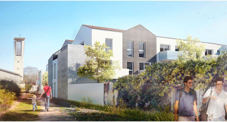 Photo n°2 du Résidence « Les Sénioriales Porte De Ré » programme immobilier neuf en Loi Pinel à La Rochelle