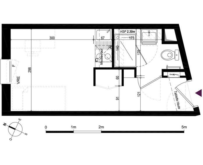 Appartement studio la rochelle n 853 nord ouest for Appartement piscine