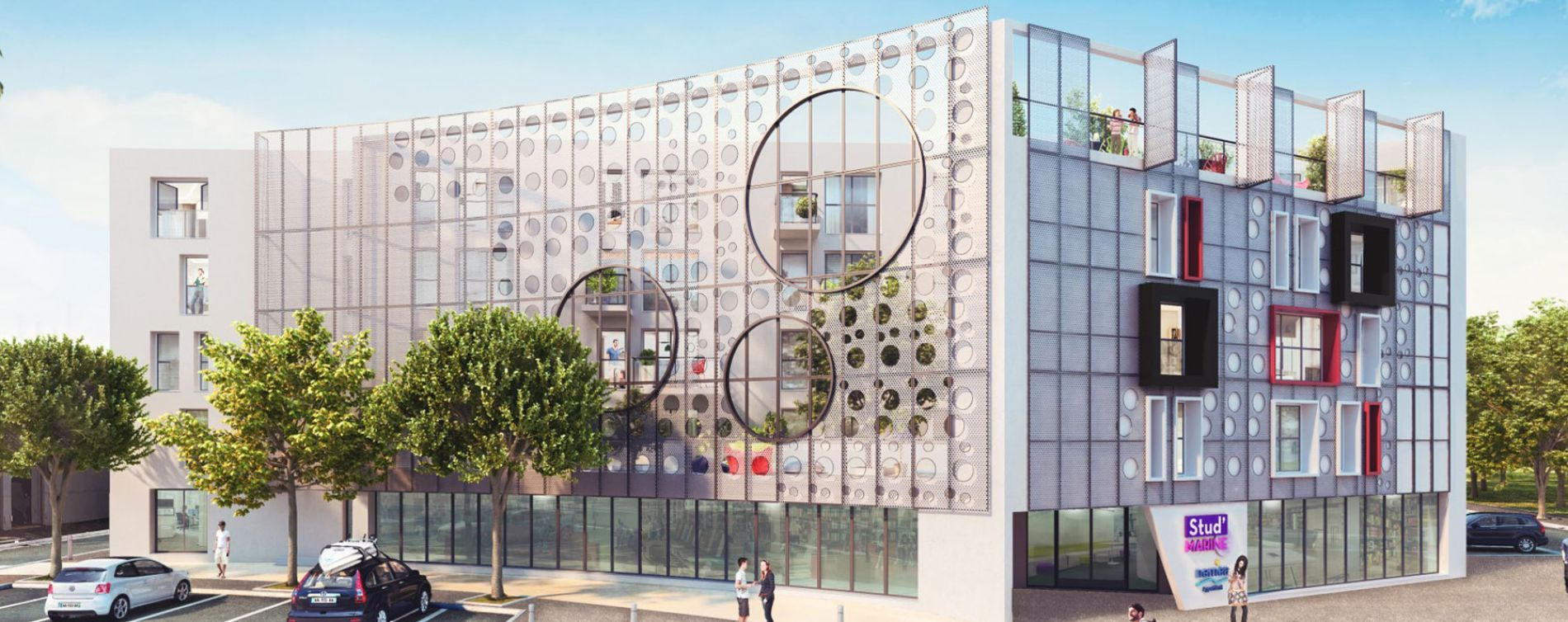 La Rochelle : programme immobilier neuve « Stud'Marine »