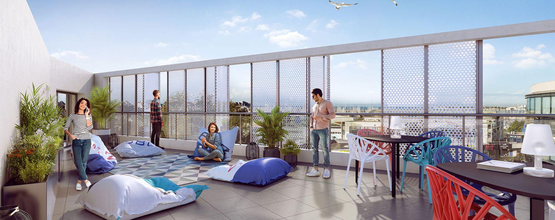 La Rochelle : programme immobilier neuve « Stud'Marine » (2)