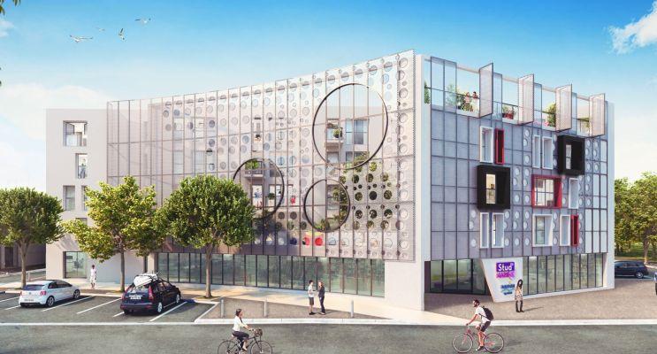 Photo du Résidence « Stud'Marine » programme immobilier neuf à La Rochelle