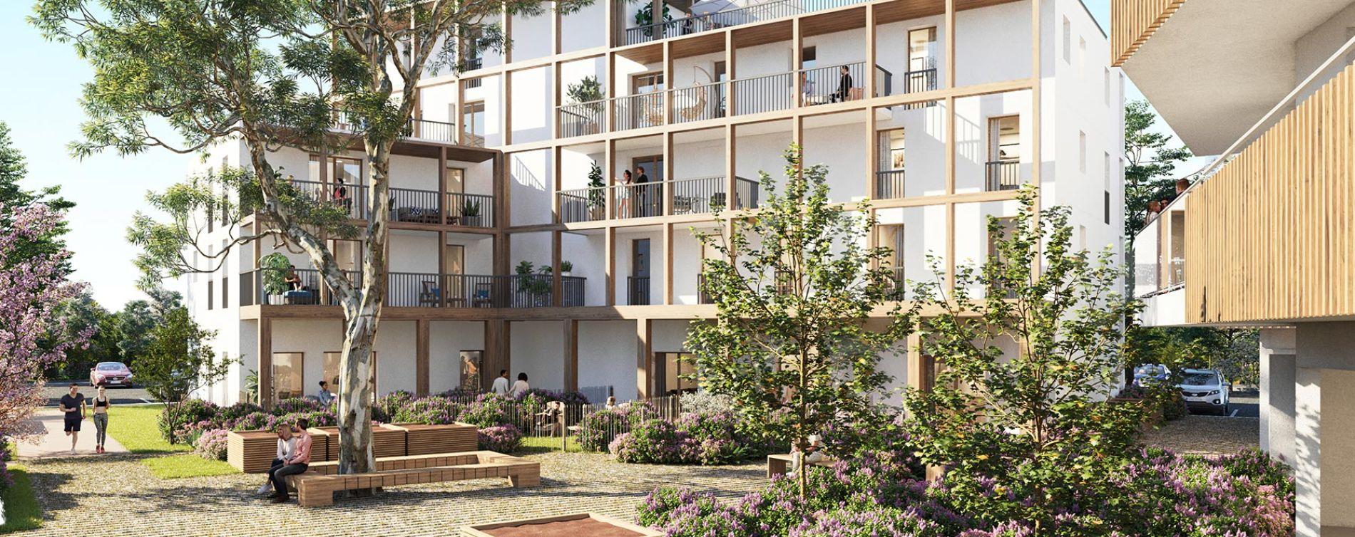 Lagord programme immobilier neuve « Echô 2 »