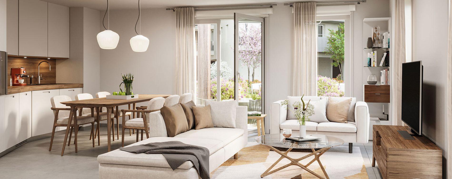 Lagord programme immobilier neuve « Echô 2 »  (3)