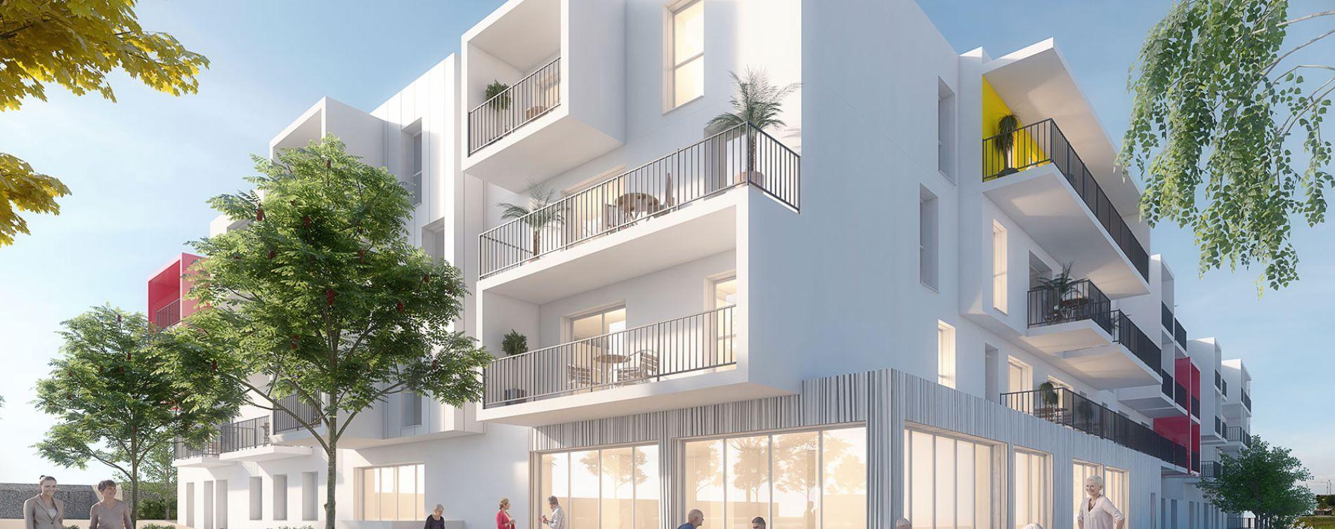 Royan : programme immobilier neuve « La Grand Voile » (2)