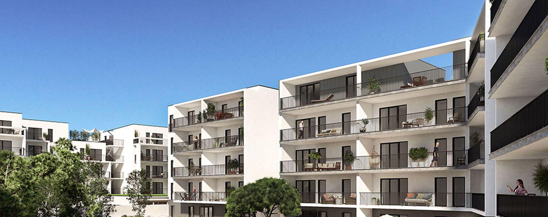 Royan : programme immobilier neuve « L'Orée du Parc »