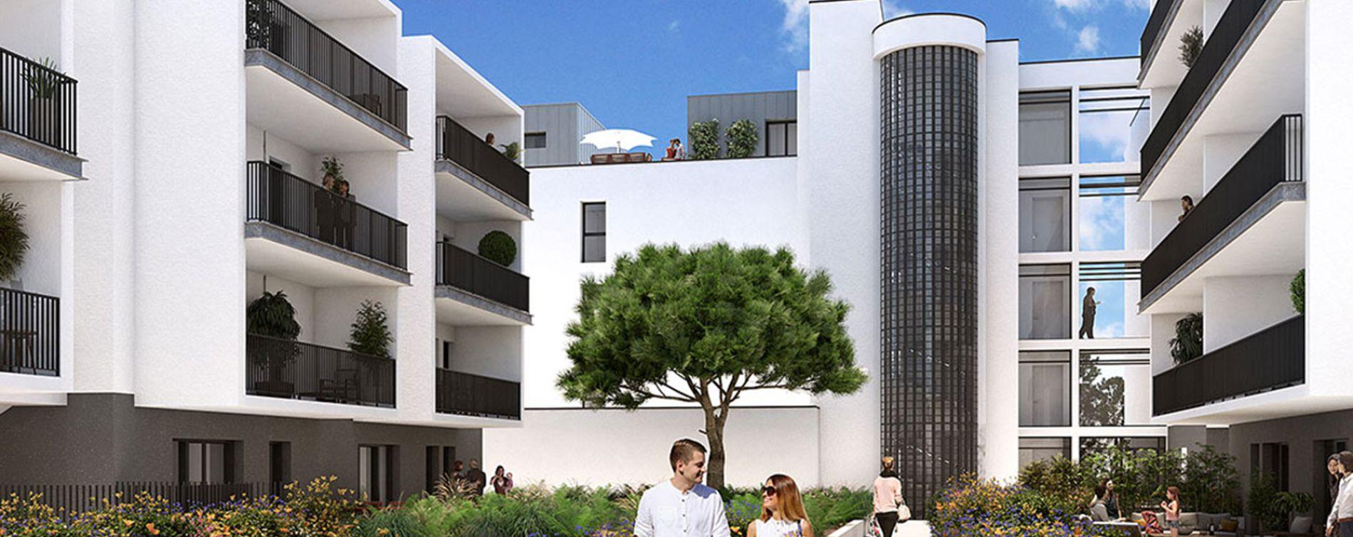 Royan : programme immobilier neuve « L'Orée du Parc » (2)