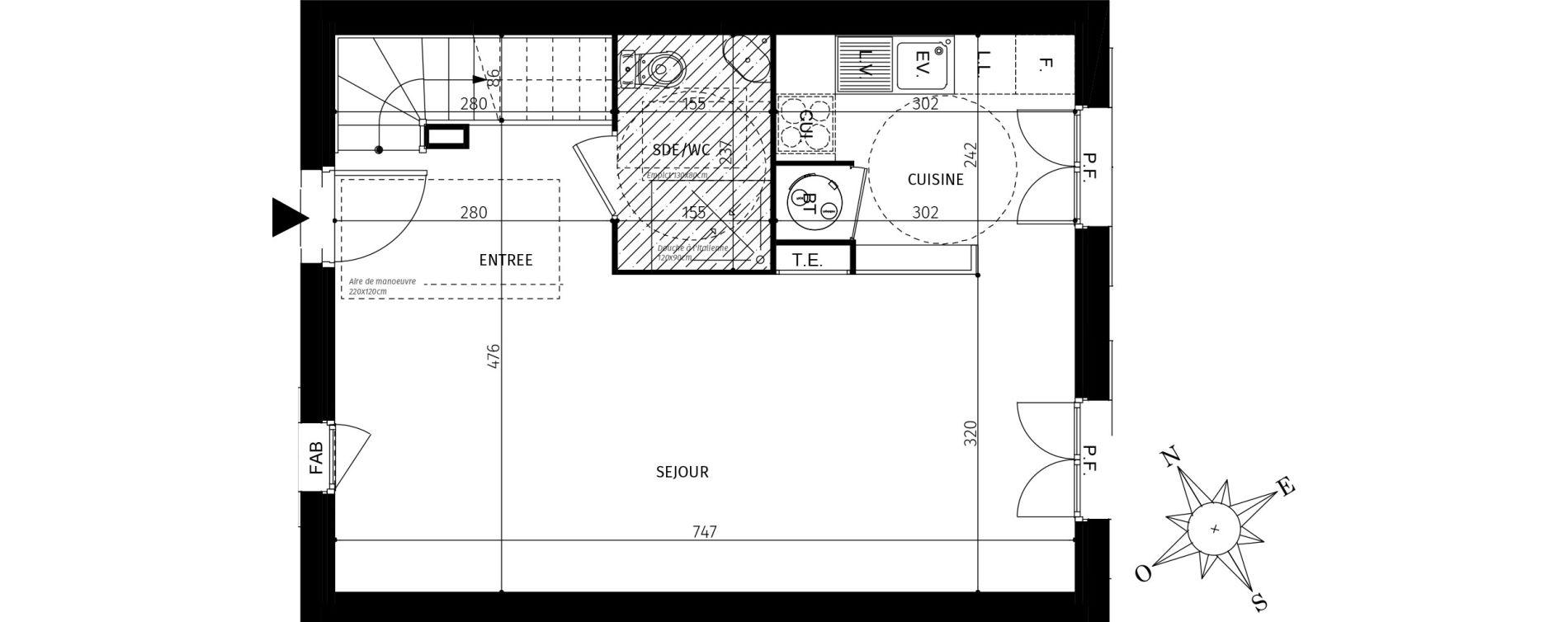 Maison T4 de 75,35 m2 à Saint-Georges-D'Oléron Centre