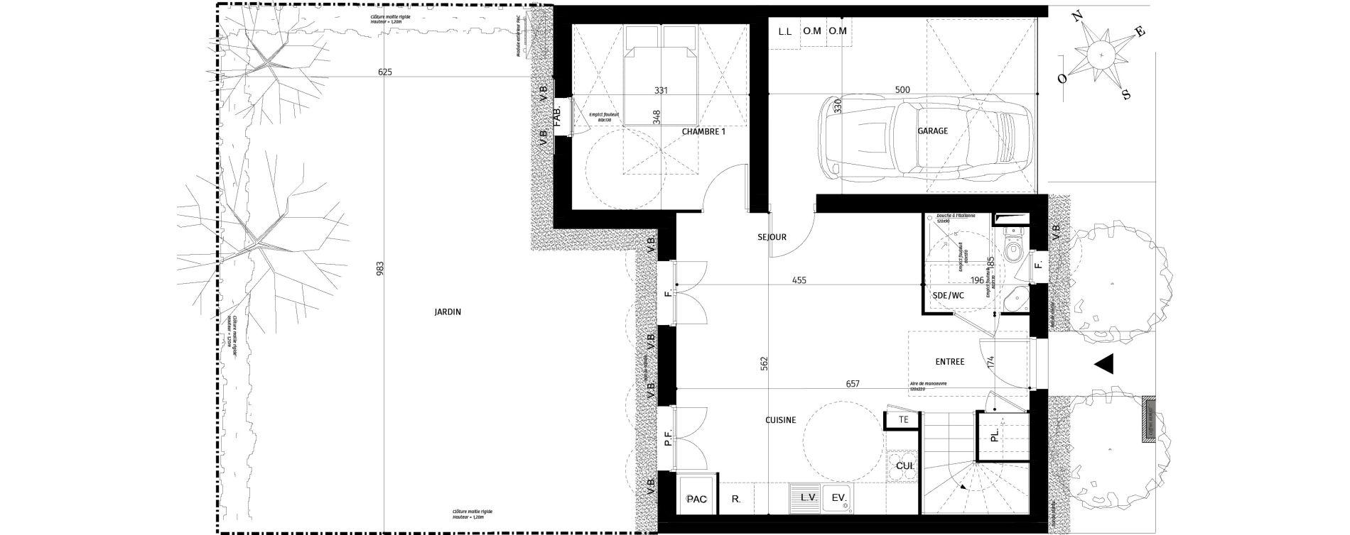 Maison T4 de 77,10 m2 à Saint-Georges-D'Oléron Centre