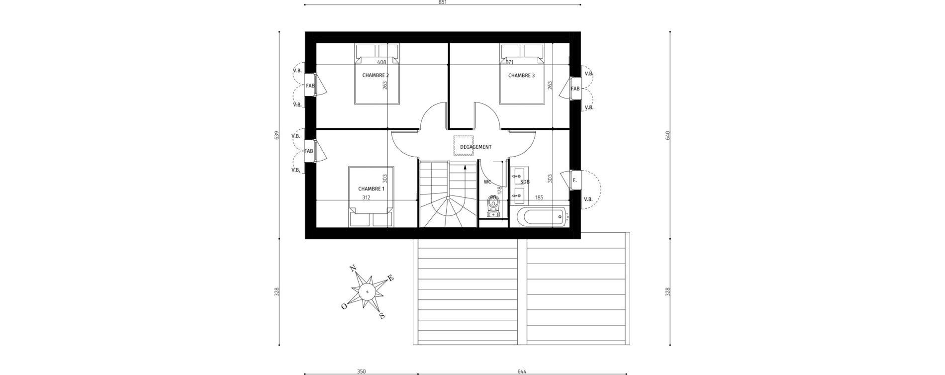 Maison T4 de 82,15 m2 à Saint-Georges-D'Oléron Centre