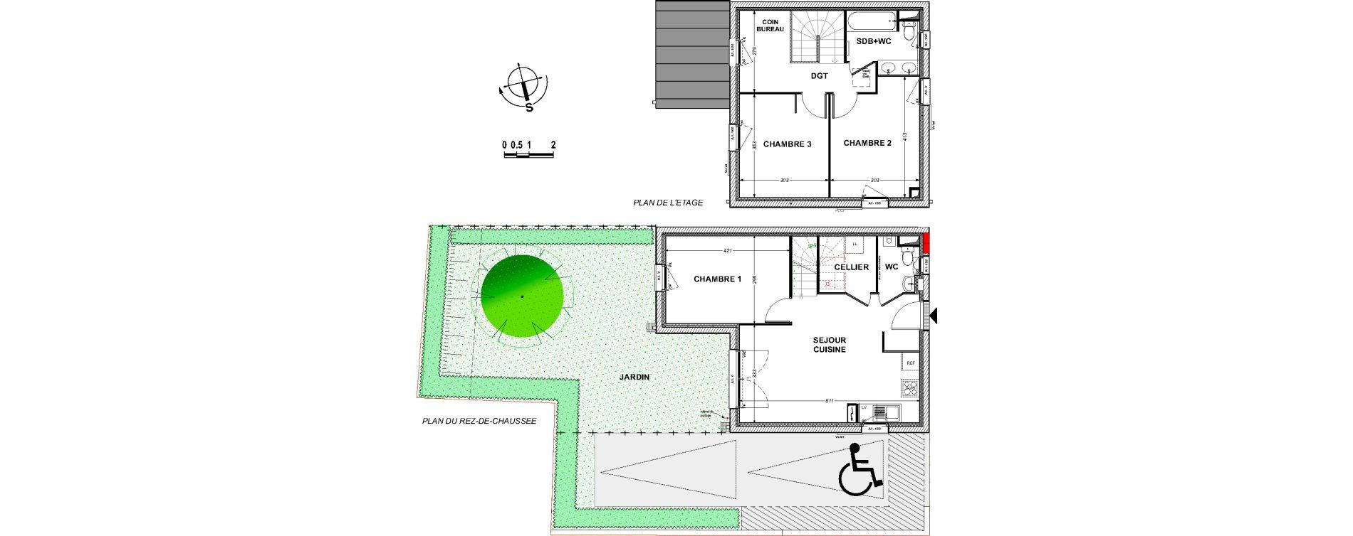 Maison T4 de 76,98 m2 à Saint-Xandre Centre