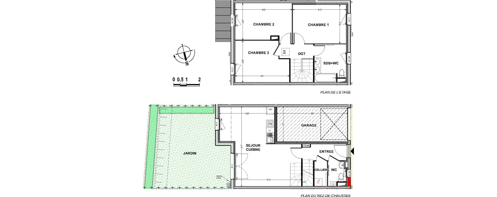 Maison T4 de 84,35 m2 à Saint-Xandre Centre