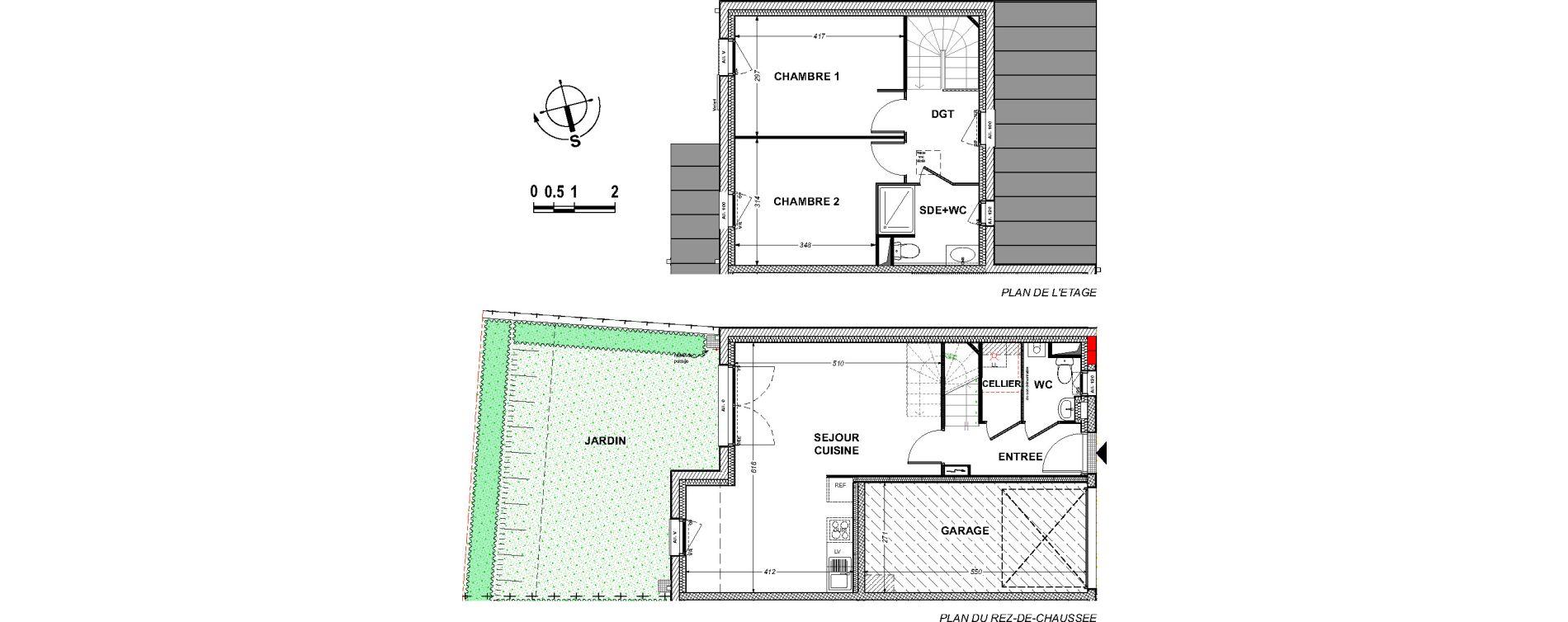 Maison T3 de 68,68 m2 à Saint-Xandre Centre