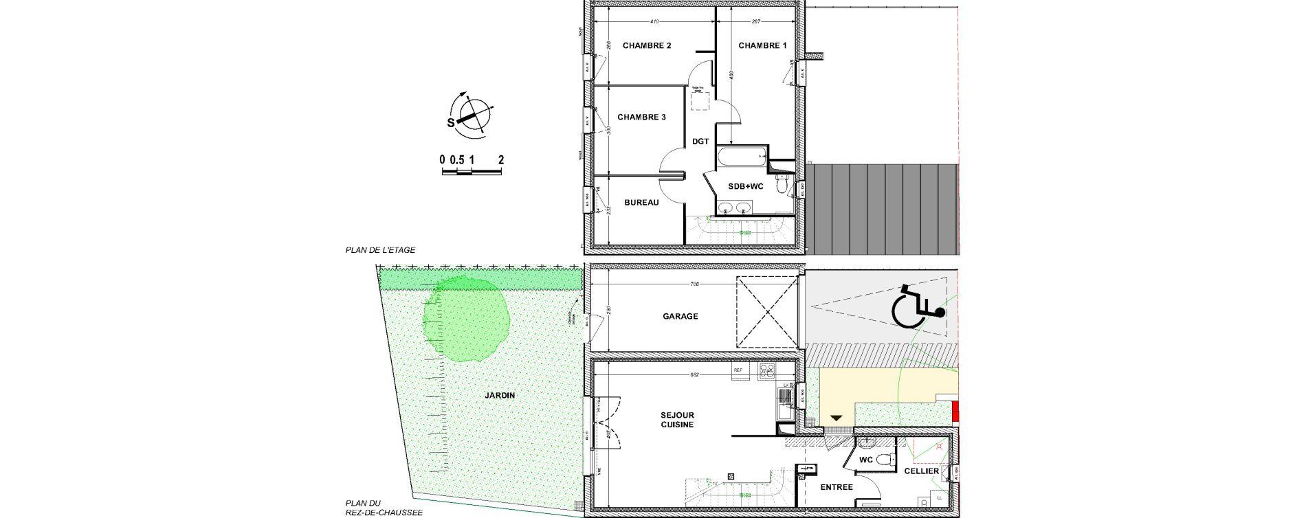 Maison T4 de 92,22 m2 à Saint-Xandre Centre