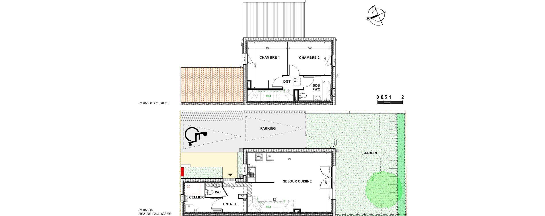 Maison T3 de 67,64 m2 à Saint-Xandre Centre
