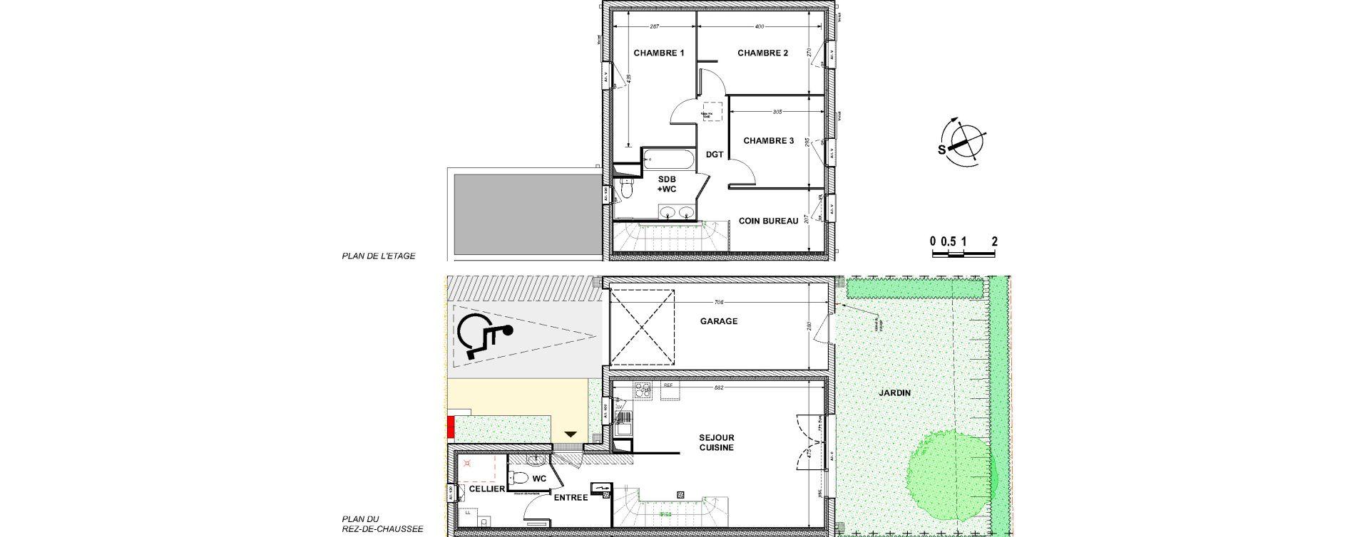 Maison T4 de 88,36 m2 à Saint-Xandre Centre