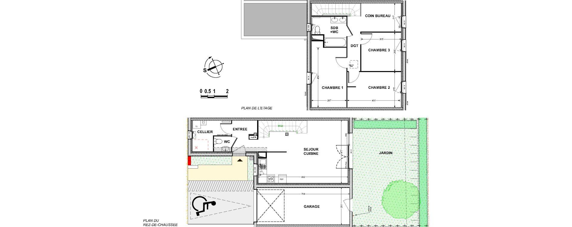Maison T4 de 89,52 m2 à Saint-Xandre Centre