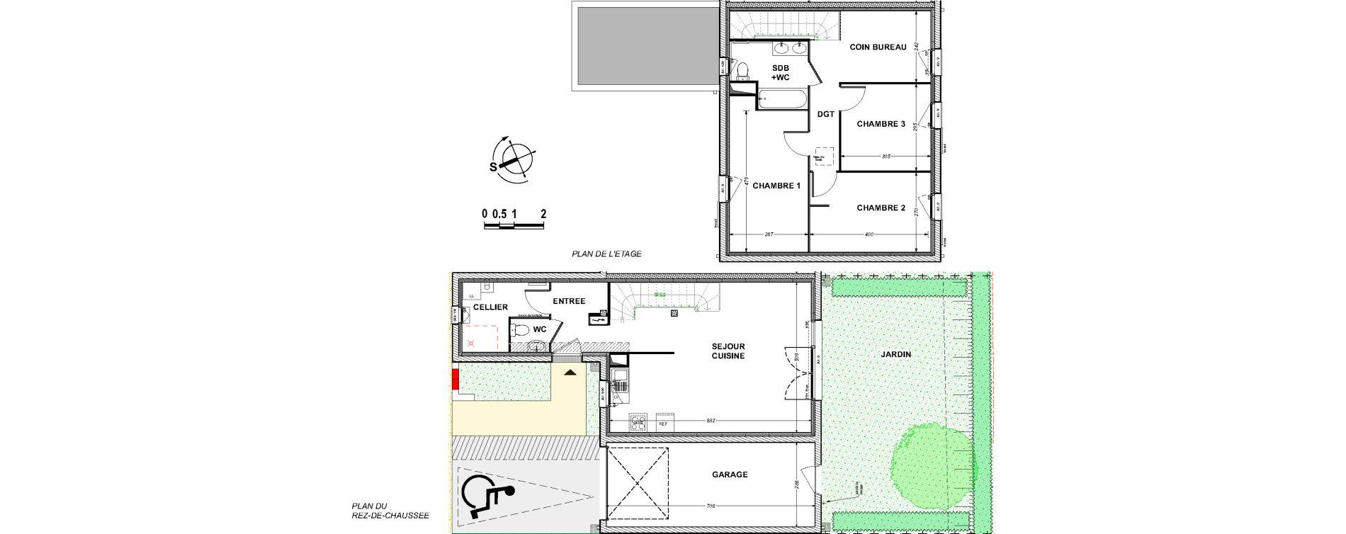 Maison T4 de 93,32 m2 à Saint-Xandre Centre