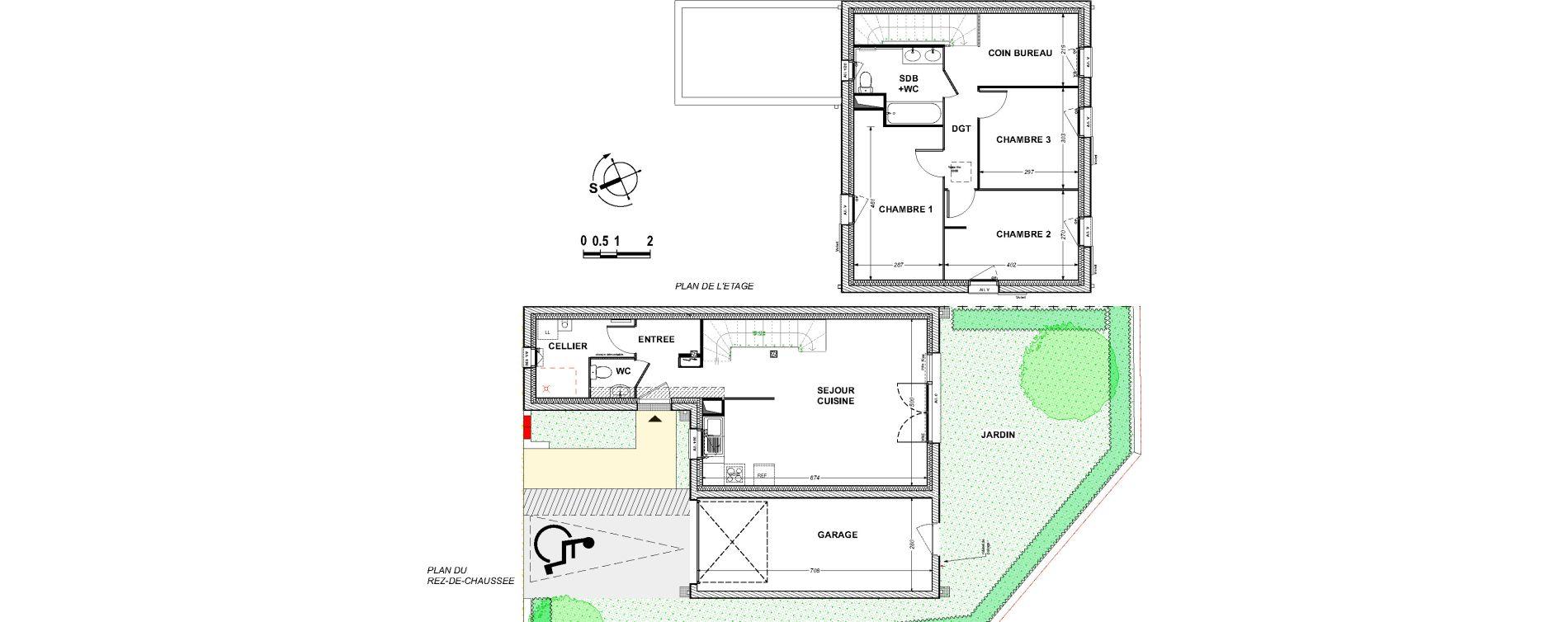 Maison T4 de 90,64 m2 à Saint-Xandre Centre