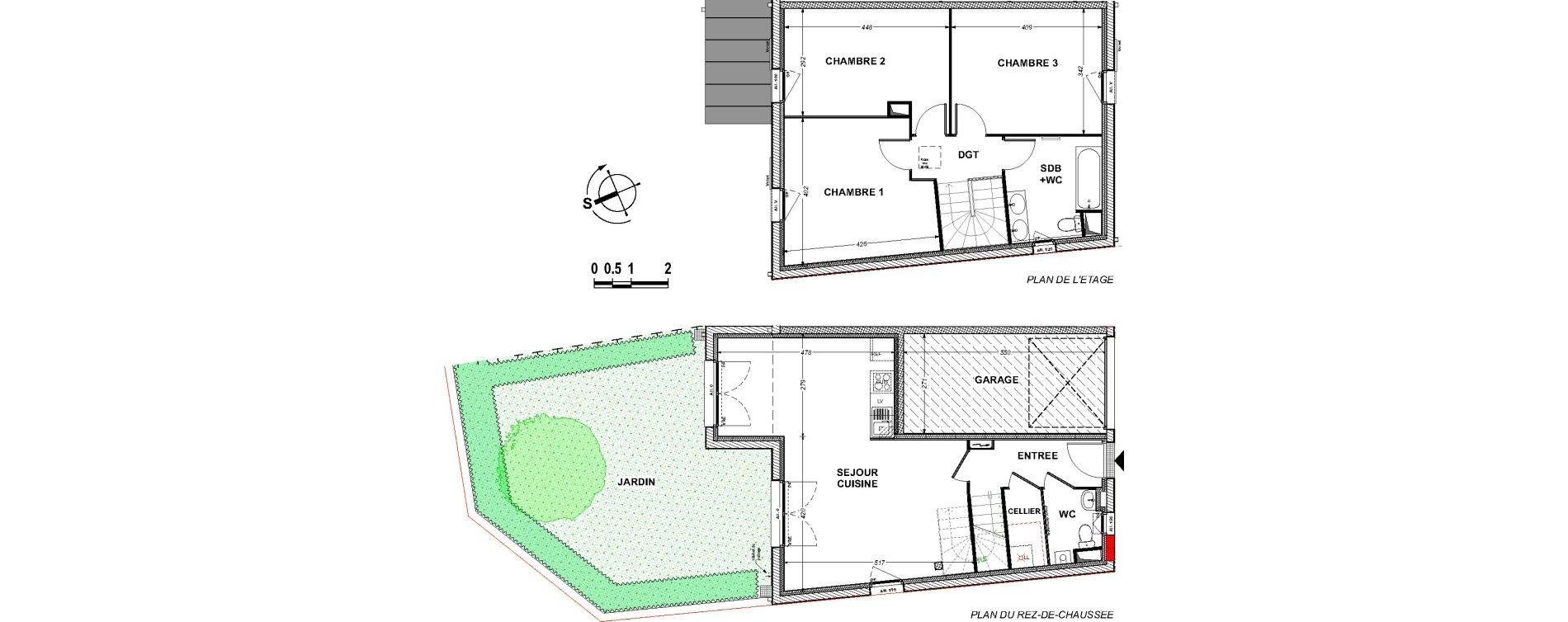 Maison T4 de 92,69 m2 à Saint-Xandre Centre