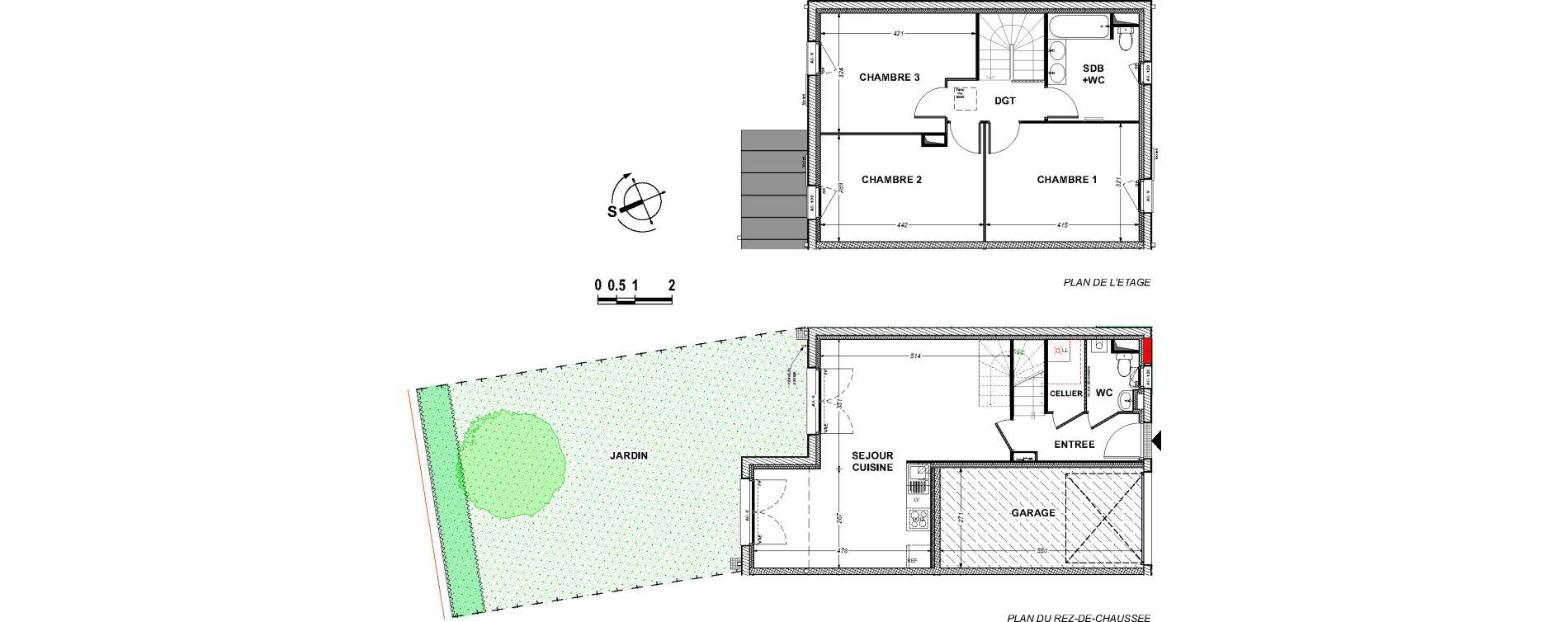 Maison T4 de 86,54 m2 à Saint-Xandre Centre