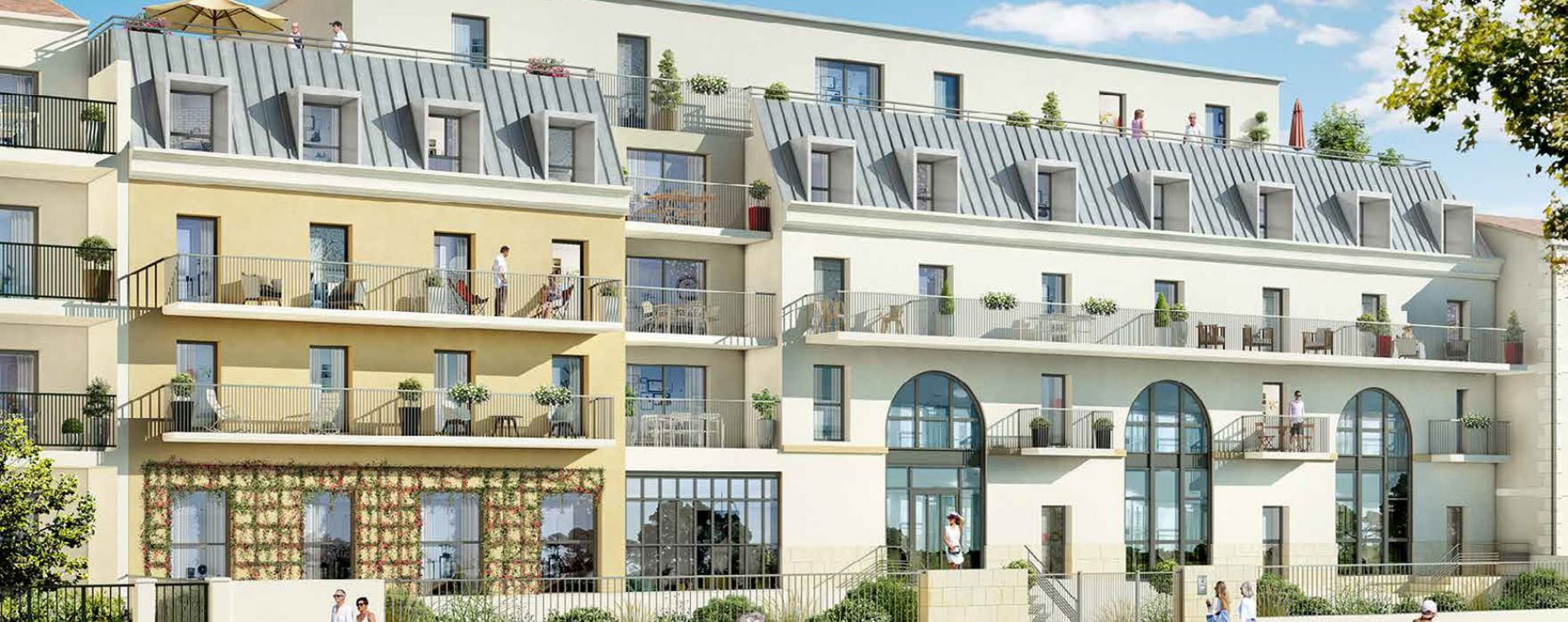 Périgueux : programme immobilier neuve « Les Girandières du Périgord Blanc »