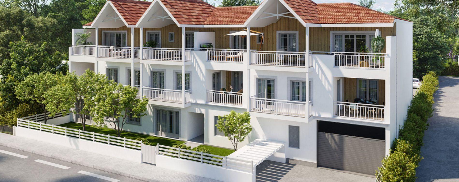 Andernos-les-Bains : programme immobilier neuve « A'Marée »