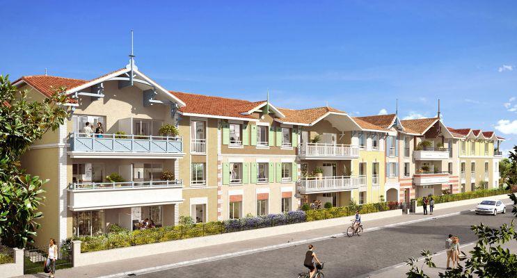 Arcachon : programme immobilier neuf « La Belle Saison » en Loi Pinel