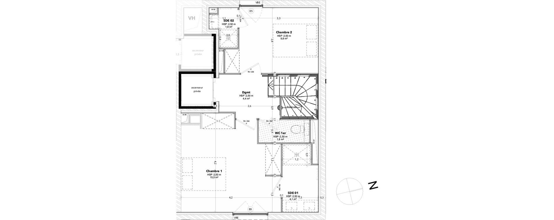 Maison T5 de 116,72 m2 à Arcachon Centre