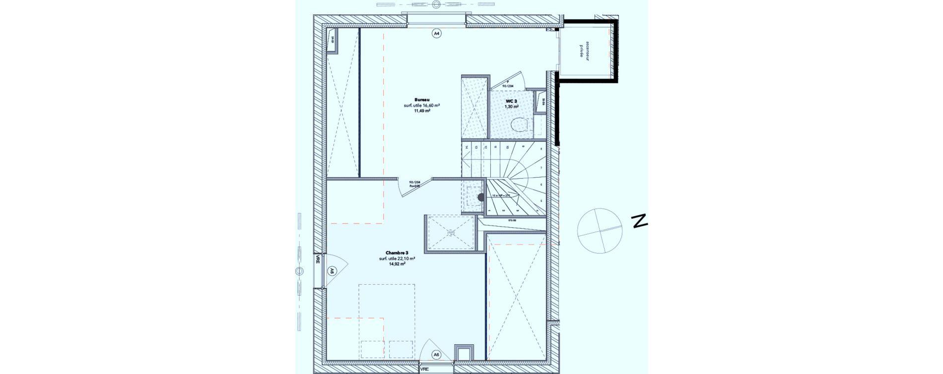 Maison T5 de 114,20 m2 à Arcachon Centre