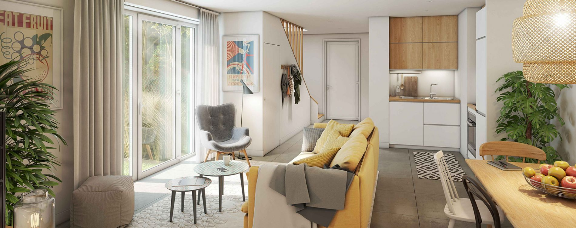 Artigues-près-Bordeaux : programme immobilier neuve « Alhena » en Loi Pinel (4)
