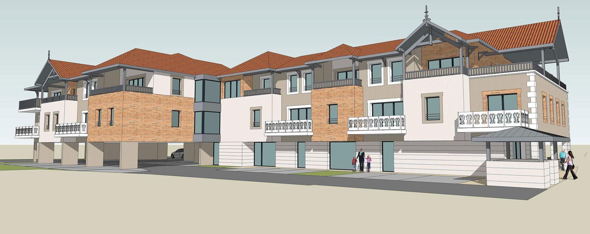 Audenge : programme immobilier neuve « AuxAnges » en Loi Pinel (2)