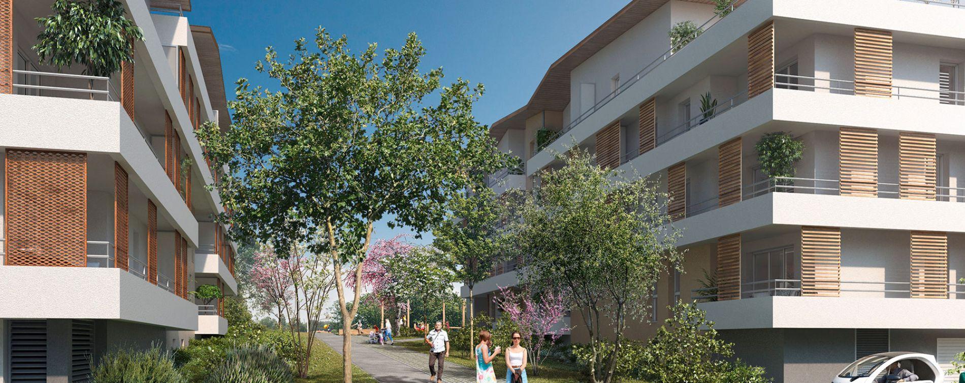 Résidence Golden Park à Bassens