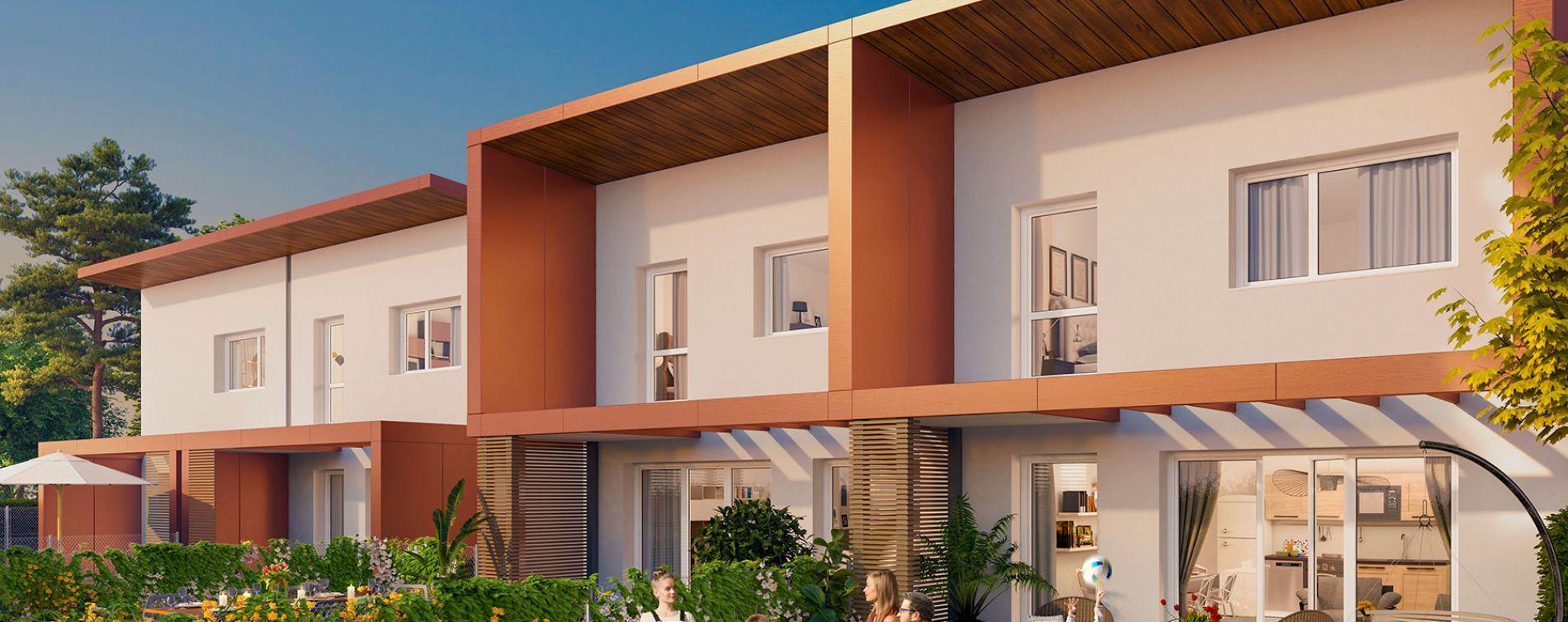 Bassens : programme immobilier neuve « Les Villas Caudaly »