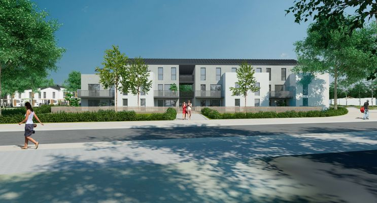 Photo du Résidence « Millésime » programme immobilier neuf en Loi Pinel à Bassens