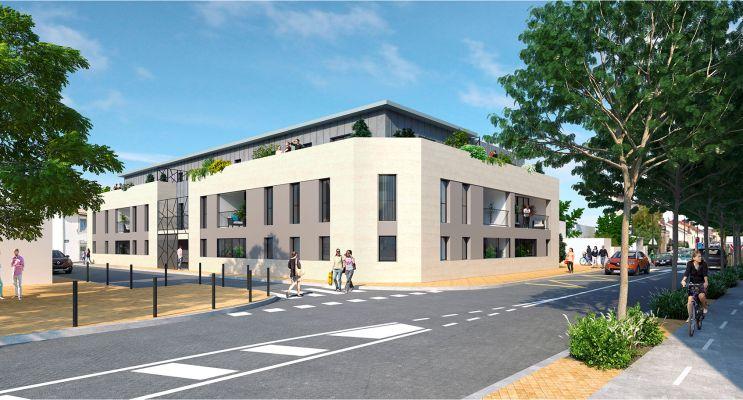 Bègles : programme immobilier neuf « Abelya - Avant-première » en Loi Pinel