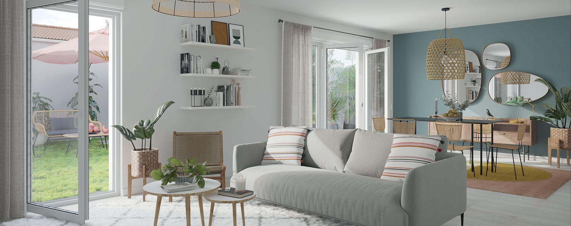Bègles : programme immobilier neuve « Les Marcellines » (2)