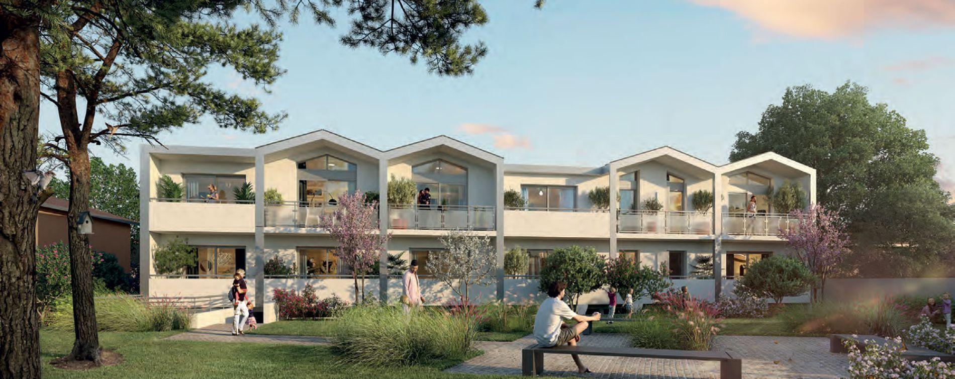 Bègles : programme immobilier neuve « Villa Néha » en Loi Pinel