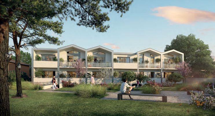 Bègles programme immobilier neuf « Villa Néha » en Loi Pinel