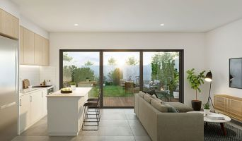 Résidence « Villas Bécla » programme immobilier neuf en Loi Pinel à Bègles n°2