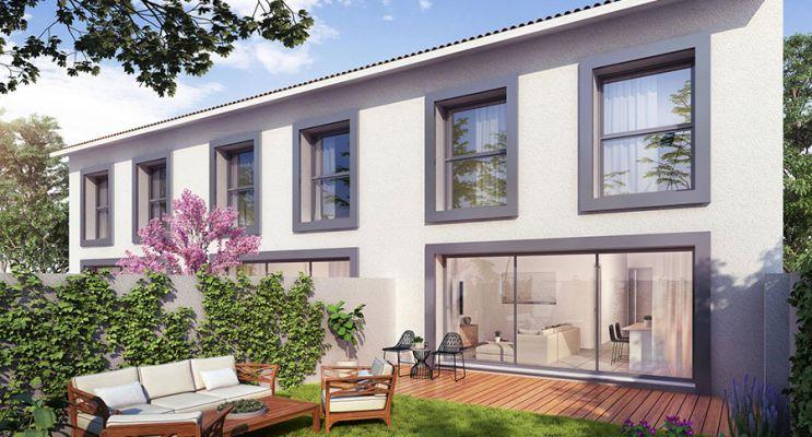Photo du Résidence « Villas Bécla » programme immobilier neuf en Loi Pinel à Bègles