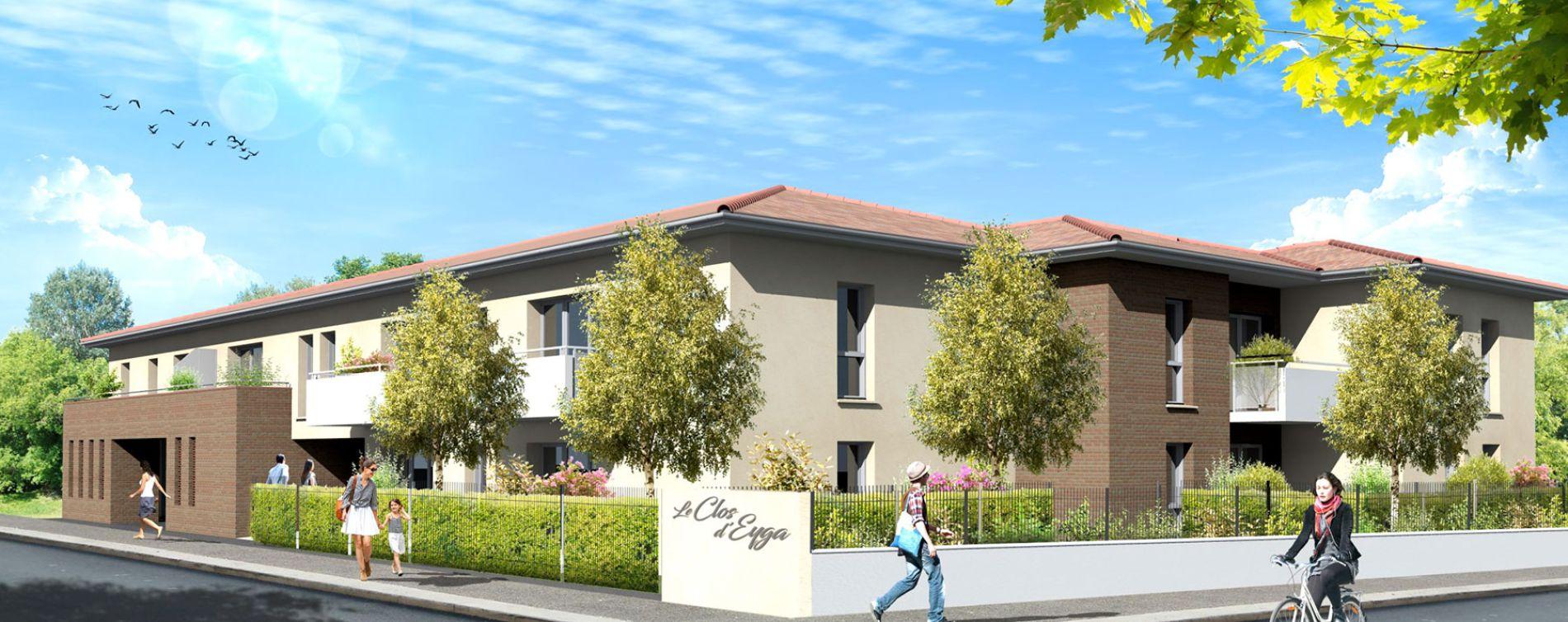 Biganos : programme immobilier neuve « Clos d'Eyga » en Loi Pinel
