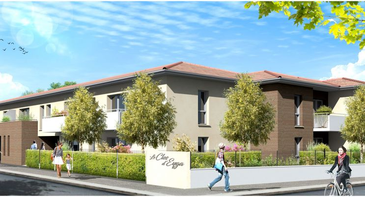 Biganos programme immobilier neuf « Clos d'Eyga » en Loi Pinel
