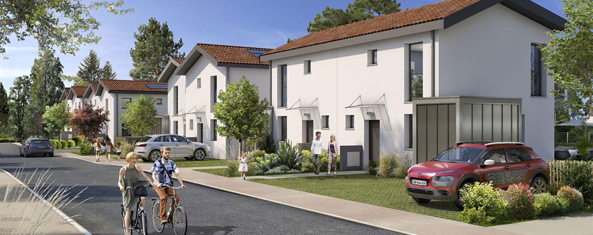 Blanquefort : programme immobilier neuve « Lys Blancs »